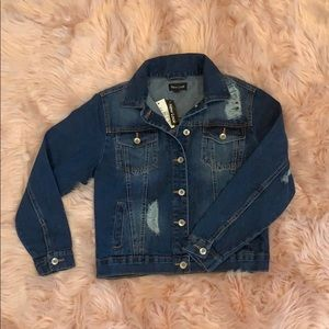 NWT DENIM JACKET